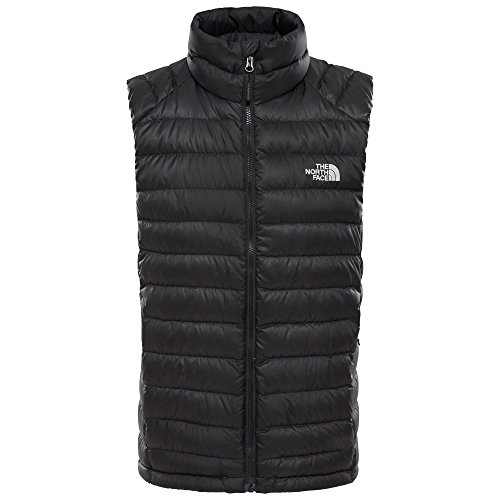 41MMHlI1jXL. SS500  - The North Face M Trevail Vest Tnf Black/Tnf Black XXL