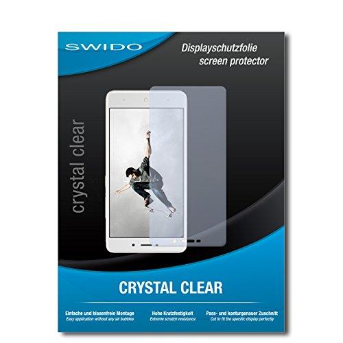 SWIDO Schutzfolie für TP-Link Neffos X1 [2 Stück] Kristall-Klar, Hoher Härtegrad, Schutz vor Öl, Staub & Kratzer/Glasfolie, Bildschirmschutz, Bildschirmschutzfolie, Panzerglas-Folie