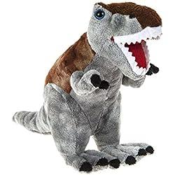 "DINOSAUR ANIMAL PLANET - Peluche Dinosaurio ""Tiranosaurios rex"" 9""/24cm - Calidad Super Soft"