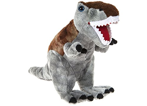 "DINOSAUR ANIMAL PLANET - Plush toy ""Tyrannosaurus Rex"" Dinosaur of the TV program ""Animal Planet"" (9""/24cm) - Quality Super Soft"