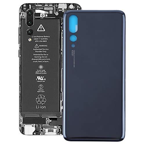 Phone Replacement Parts Handy-Ersatzteile, Rückseitige Abdeckung für Huawei P20 Pro (Farbe : Schwarz)