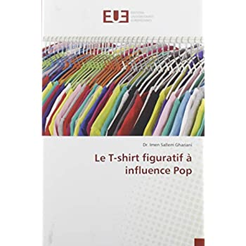 Le T-shirt figuratif à influence Pop
