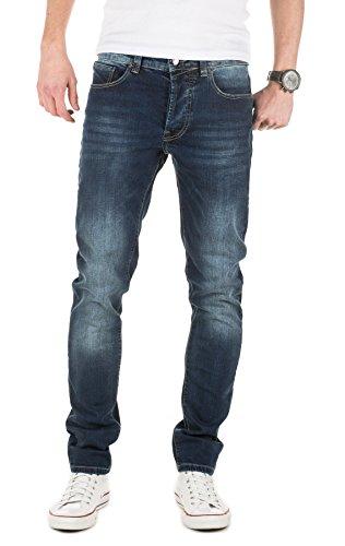 Denim Co (Yazubi Herren Jeans Balmond slim fit, vintage mood indigo (4025), W34/L32)