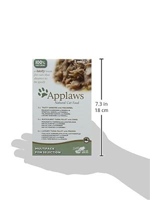 Applaws Cat Pot Juicy Chicken Breast with Duck 10 x 60 g