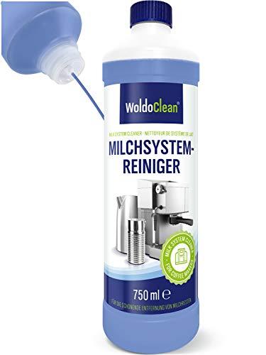 WoldoClean Milchsystemreiniger für Kaffeevollautomaten Kaffeemaschine & Milchaufschäumer - 750ml Reiniger