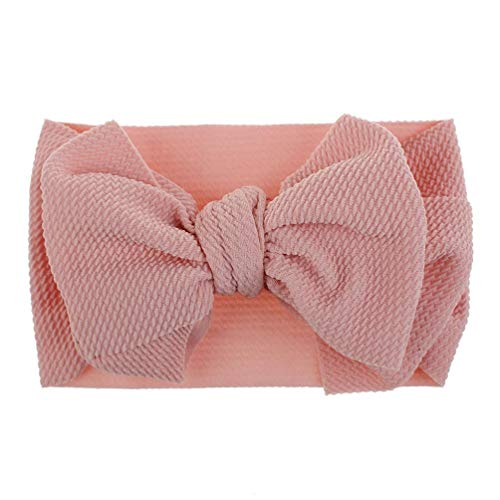 aby Kleinkind MäDchen Bowknot Stirnband Stretch Haarband Headwear, Tutu Dress Cosplay Pageant Dress Up Knoten Kopf Wraps Fotografie ZubehöR ()