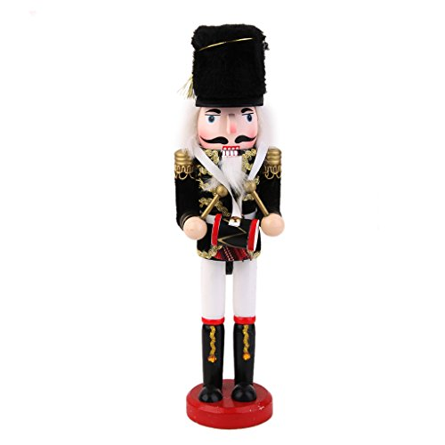 MagiDeal Casse-Noisette en Bois écossais Figurine Soldat Collection Enfant Adulte #5