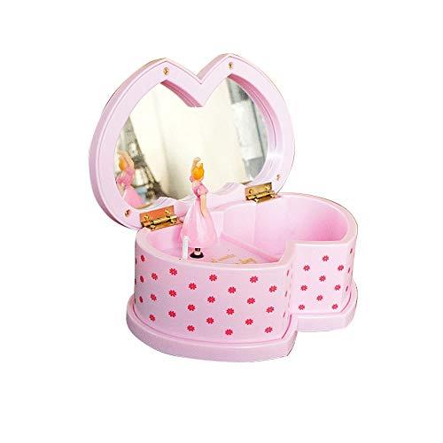 Nibesser Magische Fee Bezauberndes Schmuckkästchen Schmuck Spieldose Schmuckschatulle - Spieluhr für Kinder - Musikalische Schmuck-box