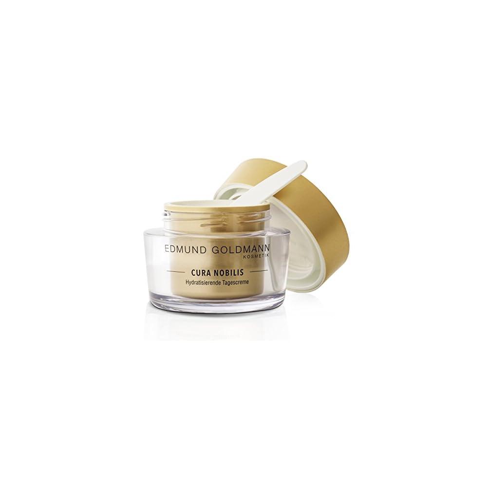 Edmund Goldmann Kosmetik Cura Nobilis 50 Ml Hochkonzentrierte Hydratisierende Tagescreme Mit Anti Aging Effekt Intensiver Feuchtigkeitspflege Dermatologisch Getestete Naturkosmetik