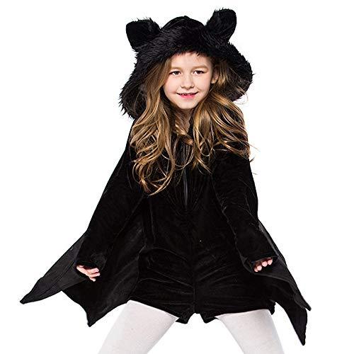 SIOPEW Kinder Erwachsene Halloween Bat Ohren Cosplay KostüM Ball Party ()