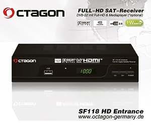 Octagon SF 118 HD Entrance USB Sat Full HD Receiver
