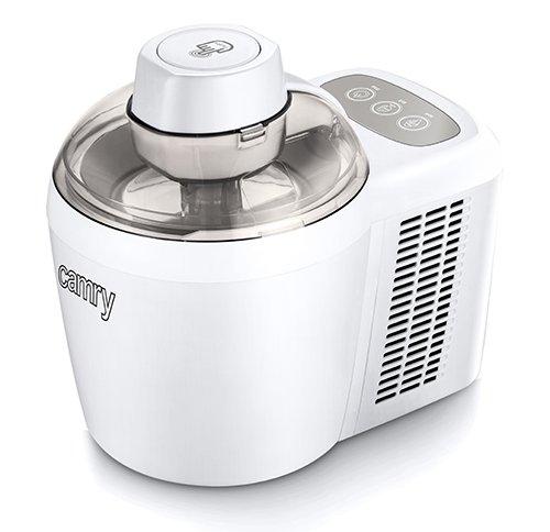 Camry CR 4481 - Speiseeismaschine ,Eiscreme Maschine, Sorbet Maschine, Frozen Joghurt Maschine, Speiseeismaschine mit Timer,Zubereitung von Eis, Sorbetts und gefrorenem Joghurt