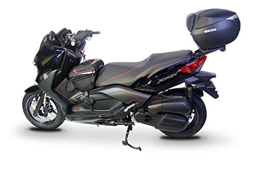 Shad Y0XM20ST Soporte de Baúl para Yamaha X-Max 250, Negro