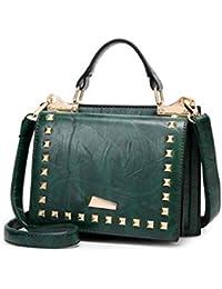 XIAOXINYUAN Donne Borsa A Tracolla Donna Nuovi Rivetti di Moda Casual  Messenger Bag Ladies Borsetta Piccola 36b919b3396