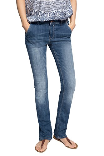 EDC Women - Skin bootcut, Jeans da donna, blu (blau  (blue medium wash 902)), W27/ L34
