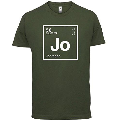 Jonte Periodensystem - Herren T-Shirt - 13 Farben Olivgrün