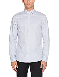 Hackett London Sq Fil Coupe, Camisa para Hombre
