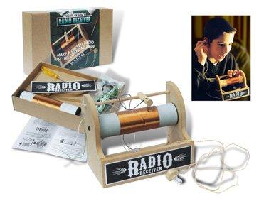 Crystal Radio Receiver Kit - Make a radio like Grandads Detektor Radio