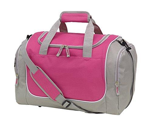 Sporttasche GYMZL mit Schuhfach Farbe Pink sehr gute Qualität