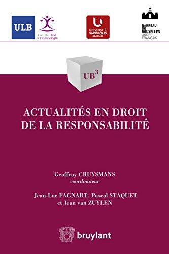 Actualits en droit de la responsabilit (UB3 t. 53)