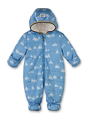 Sanetta Baby - Jungen Schneeanzug 113853, Gr. 74, Blau (blue sea 50206)