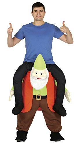 Guirca-Kostüm Erwachsene Carry Me Wichtel, Größe 52-54(88297.0)