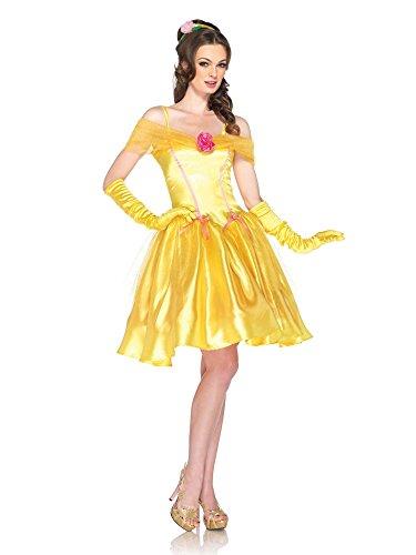 GGTBOUTIQUE Damen A-Linie Kleid gelb gelb Gr. X-Large, gelb