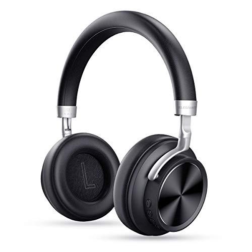 ELEGIANT Bluetooth Over Ear Kopfhörer, Bluetooth Stereo Headphone Wireless overear Headset 12 Stunden drahtlos Ohrhörer Mic 3.5mm AUX für iPhone X 8 7 6s 6 Plus Samsung S9 S8 S7 S6 HTC LG Huawei Sony