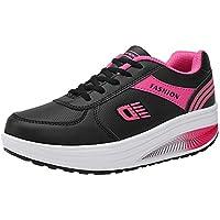 Zapatos deportes correa Fondo extra alta,Sonnena ❤️ Mujeres de moda Heightening Zapatillas de deporte de fondo suave zapatillas de deporte Zapatos de estudiante Runing