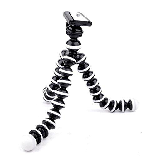 Larende Biegsames Mini Stativ mit drei Beinen für Smartphone Handy und Kamera flexibel konfigurierbar dreibeinig
