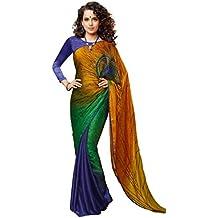 Jay Sarees - Sari - para mujer Multicolor multicolor única