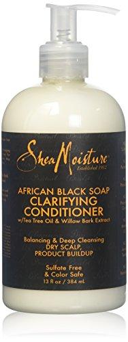 Après-Shampooing Apaisant Savon Noir Africain (Lot de 2)
