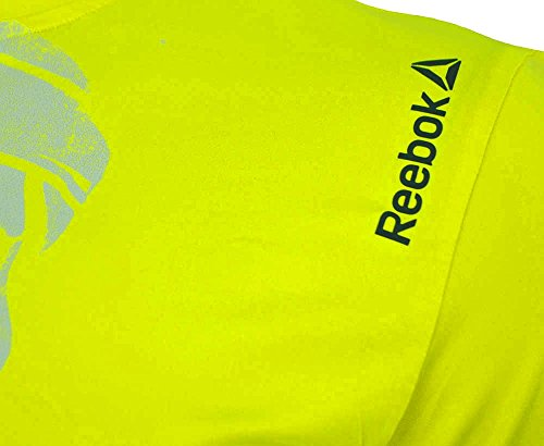 Reebok-OSR-SS-Tee-Crossfit-Mens-Play-Ice-Reflective-Running-T-Shirt-Solar-Yellow