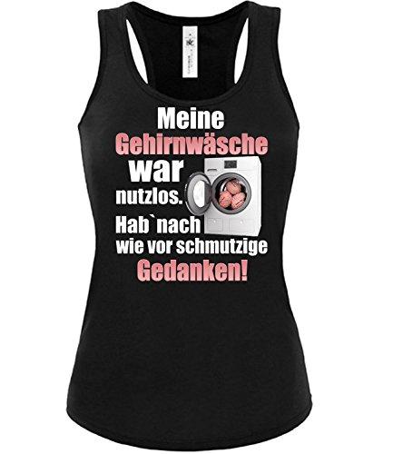 Meine Gehirnwäsche WA nutzlos - HAB Nach wie vor Schmutzige Gedanken 5856 Frauen Tank Top (TT-F-SW) Gr. M