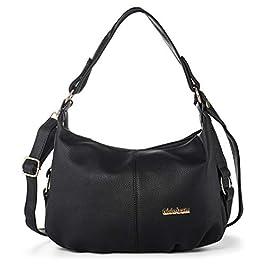 1bee26a366f4b Borsa a Tracolla Donna Hobo Bag Borse a Mano Donne Borsa Messenger Sacchetto  Vintage Borsetta in ...