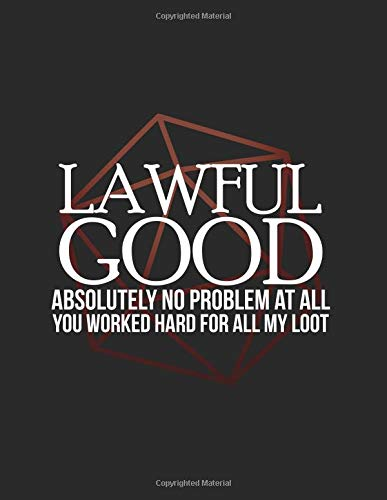 Lawful Good: RPG Alignment Themed Mapping and Notes Note por Cutiepie Mapping