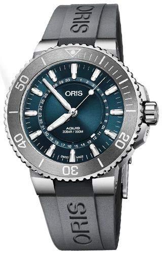 Reloj Oris 73377304125-SetRS Gris Acero 316 L Hombre