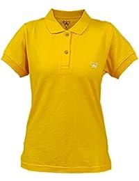 [Sponsored]Deivee Women's Cotton Polo T-shirt Regular ( Casual T-shirt For Women, Daily Wear T-shirt, Office Wear T-shirt)