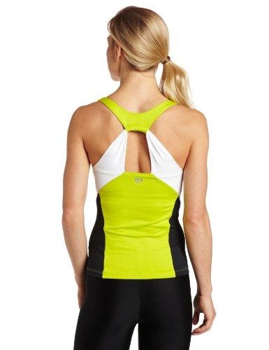 Pearl izumi pantacourt de sport pour femme infinity blanc/vert citron