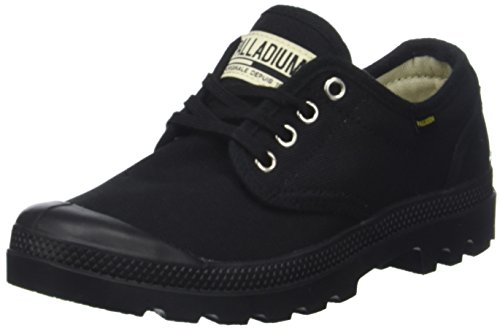 Palladium Pampa Ox ORIG U, Baskets Mixte Adulte, Noir Black 466, 39 EU