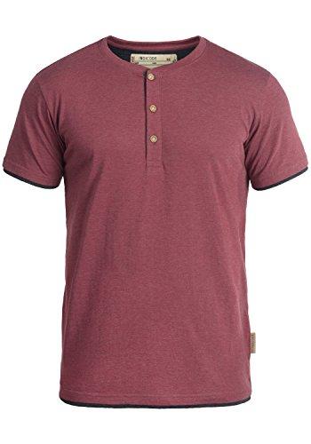 INDICODE Tony T-Shirt, Größe:S;Farbe:Wine (227)