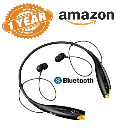 Rewy HBS-730 Neckband Bluetooth Wireless Sport Stereo Headset with Microphone for Android, iOS and Windows Devices {Assorted Colour}