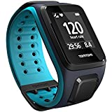 TomTom Runner 2 GPS Watch with Heart Rate Monitor, Large Strap - Sky Blue/Scuba Blue
