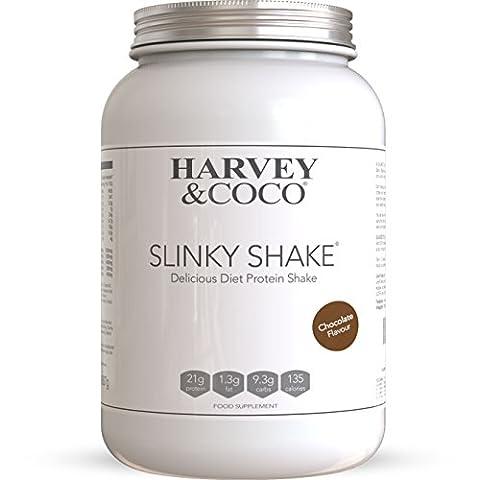 Slinky Eiweiß Diät Shake + Fatburner - Protein-reicher Mahlzeitenersatz zum