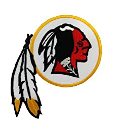 Washington Redskins Logo Embroidered Iron Patches