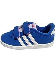 adidas Neo VLNEO COURT CMF LO Zapatillas Sneakers Azul para Bebe AdiFit