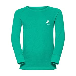 Odlo Shirt L/S Crew Neck Warm Kids – Mint Leaf