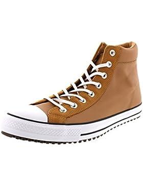 Converse Unisex CT AS Boot PC HI Braun Leder/Wildleder Sneaker