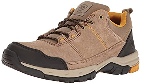 Ariat Men's Skyline Lo Lace Hiking Shoe, Tan, 13 2E US
