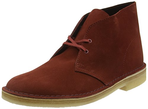Botte De Désert Clarks Originals, Polacchine Uomo Marrone (nut Brown Suede)